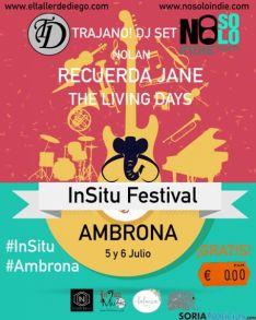 Cartel del Festival en Ambrona