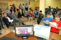Videoconferencia de los alumnos con la presidenta de las Cortes