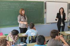 Aulas del CEIP Las Pedrizas durante el programa de educación financiera Valores de futuro