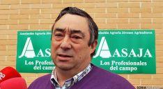 Carmelo Gómez, presidene de ASAJA-Soria.