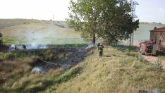 Actuación de los bomberos