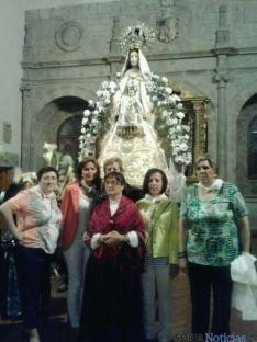 Los quintos del 64, parte activa estas fiestas de Los Milagros. / SN