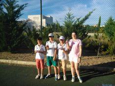 Jóvenes de la escuela de golf