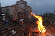 Paso del fuego en San Pedro Manrique