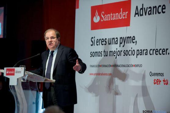 Herrera en la jornada del Santander