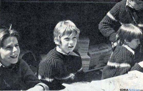 El Príncipe Felipe, en su estancia en Las Cabañas. / La Gaceta del Norte