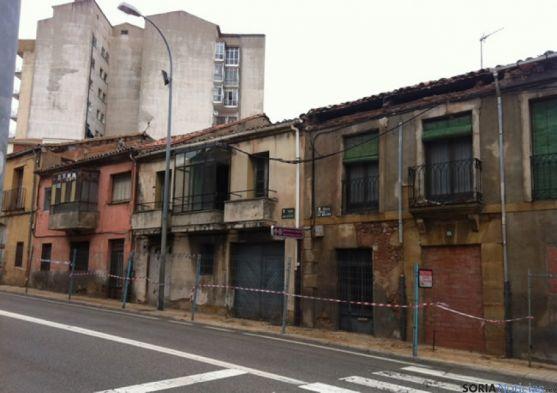 Edificios en ruina Calle Hospicio