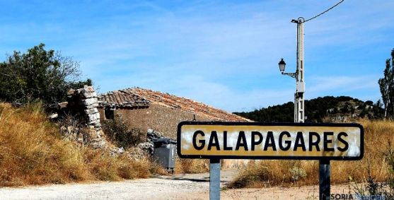 Imagen de la entrada a Galapagares.