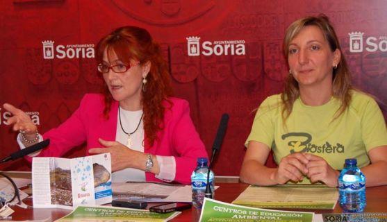 Ana Calvo y Yolanda Santos.