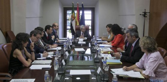 Participantes en el encuentro interregional.