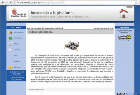 Nueva plataforma online