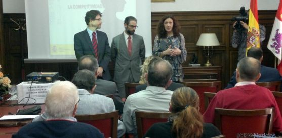 Presentación de las ayudas Reindus en la Subdelegación.