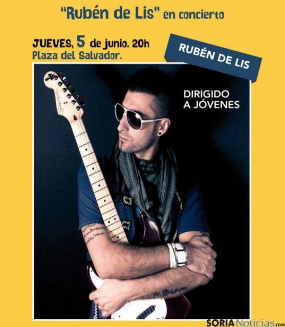 El guitarrista Rubén de Lis.