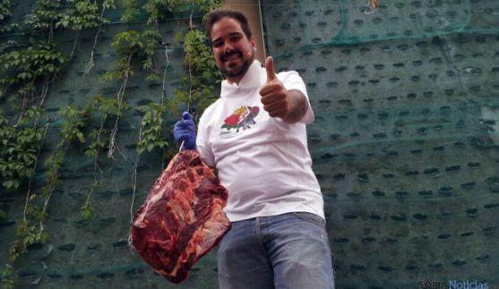 Sergio de Miguel ha subastado en Santa Catalina. / SN