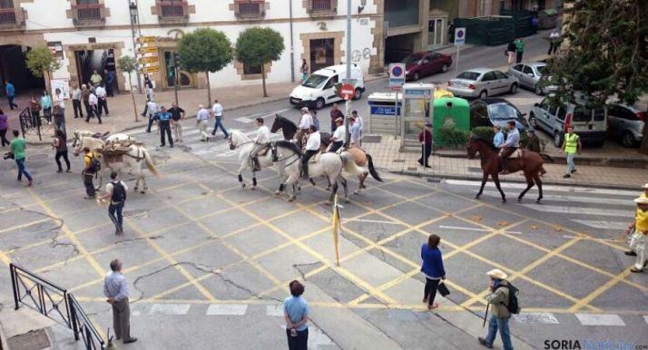 La trashumancia vuelve otra vez a Soria.