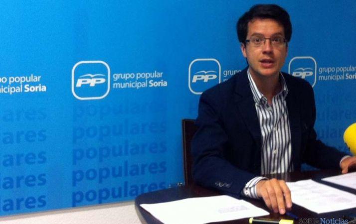 Tomás Cabezón, este martes en rueda de prensa.