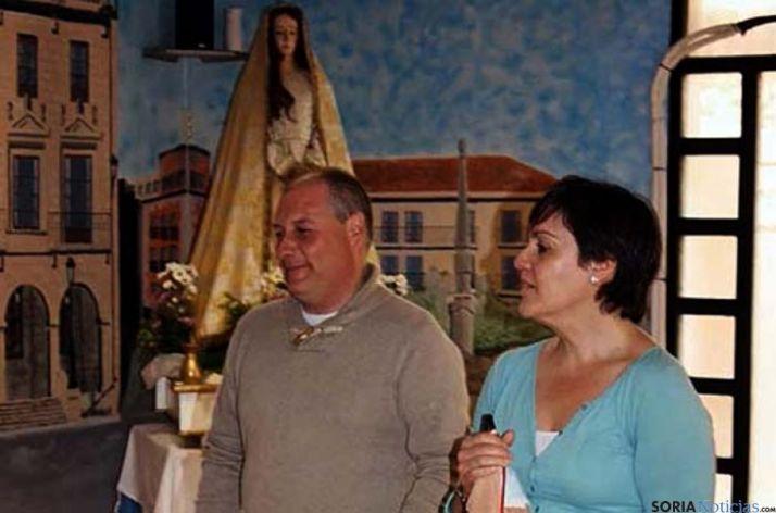 Jesús María Garrido con su esposa Sonia Martínez.