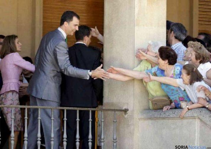 Visita Príncipes a Soria