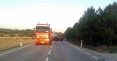 Imágenes del vehículo y la carga. / SN