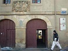 Fachada del Colegio Universitario de Soria