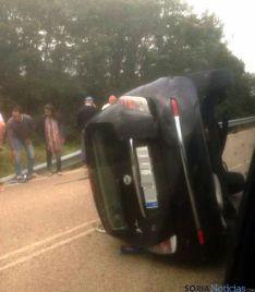 Estado del vehículo tras el accidente. / SN
