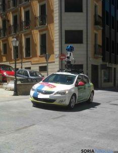 El coche de Google en Soria