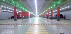 Interior del parking de Granados. / SN