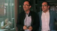 Juan Andrés Perelló (izda.) y Luis Rey. / SN