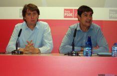 Juan Manuel Ávila (dcha.) junto a Carlos Martínez Mínguez. / SN