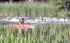 La competición en el río. / SN