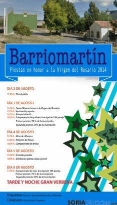 Cartel de Barriomartín