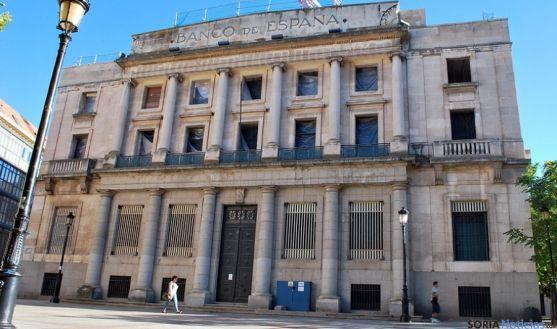 Fachada prinicipal del Banco de España. / SN