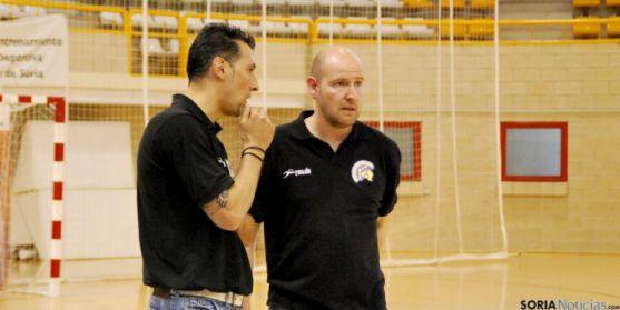Fernando Sánchez (dcha.) y Óscar Ollero.