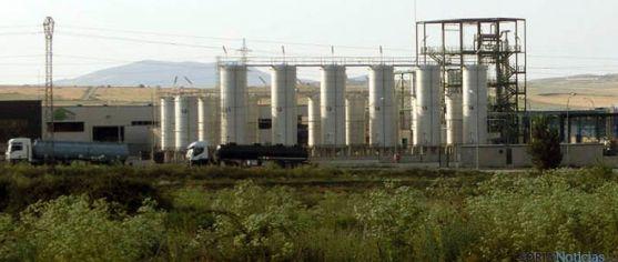 Planta de Distiller en Ólvega. / ASDEN