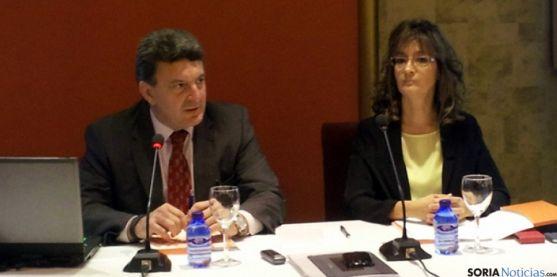 José María Ferri y Susana Morcillo, este martes. / SN
