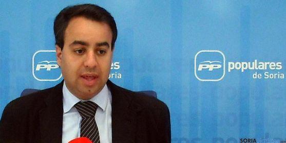 El procurador del PP Ignacio Soria. / SN