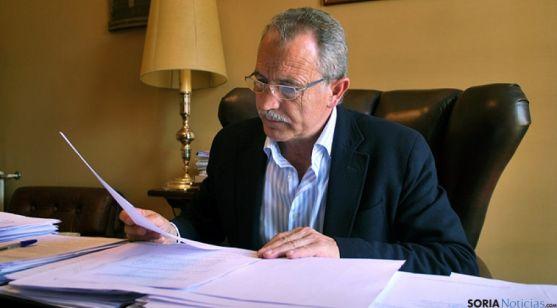 El alcalde de Almazán, José Antonio de Miguel. / SN