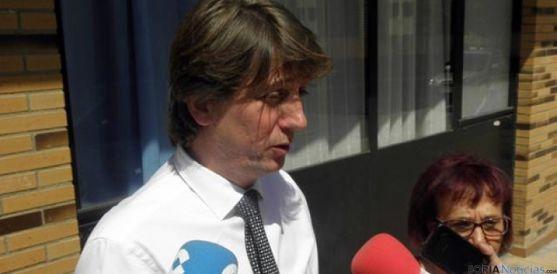El alcalde de Soria, Carlos Martínez Mínguez este miércoles. / SN