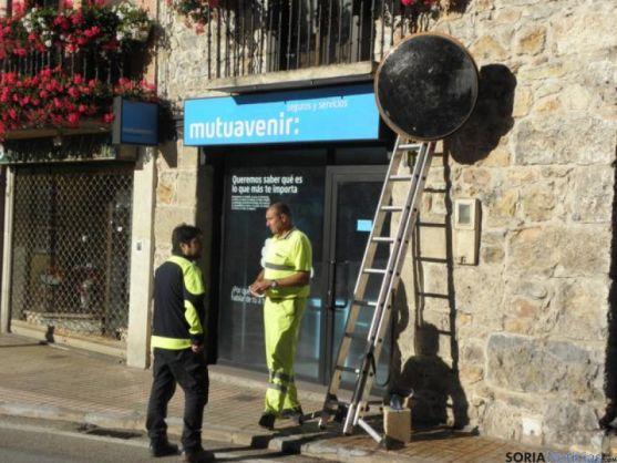 El nuevo espejo en San Leonardo