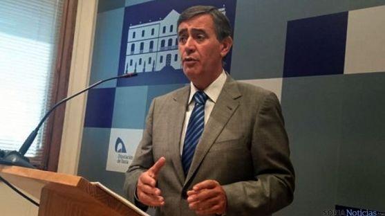Antonio Pardo, presidente de la Diputación de Soria, hoy miércoles. / SN