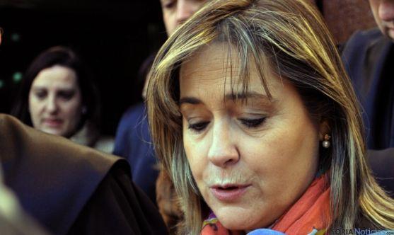 Soledad Borque, decana de los abogados sorianos. / SN