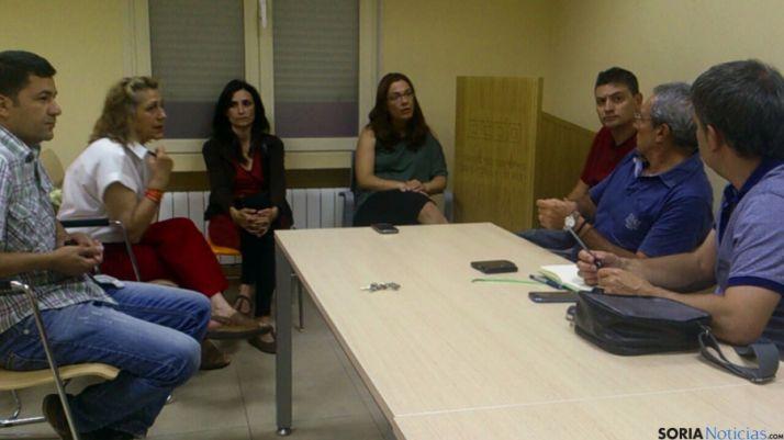 Algunos de los asistentes a la reunión. / SN