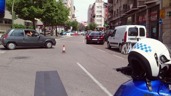 Diversos momentos del tráfico en la zona afectada por los cambios. / SN