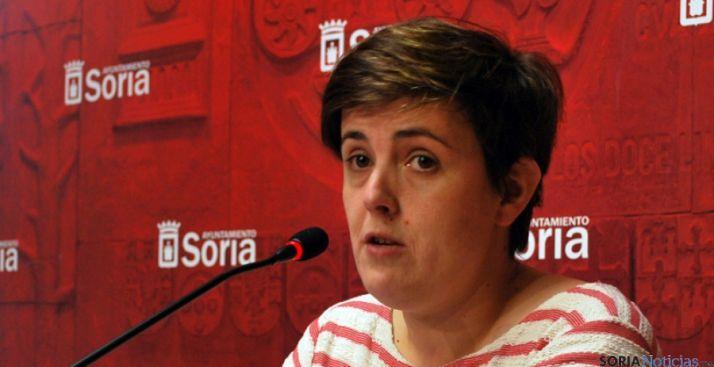 La concejal de Servicios Sociales, Ana Alegre. / SN