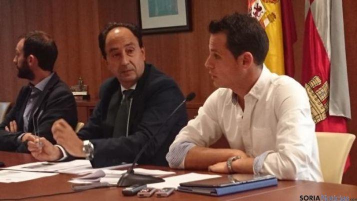 Rodrigo Gómez, Manuel López y Víctor Cabrerizo
