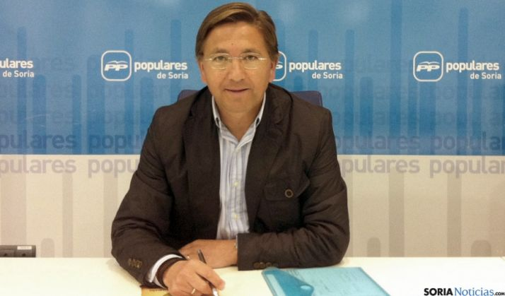 El diputado popular Gerardo Martínez.