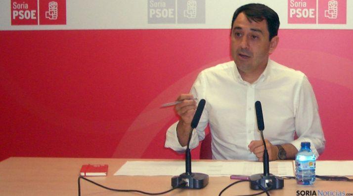 El secretario de Sanidad del PSOE soriano, Javier Muñoz.