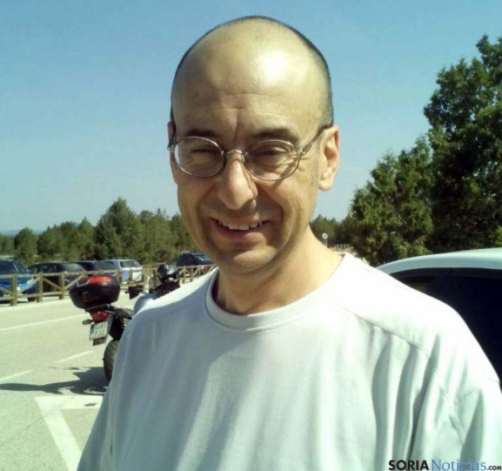 El organizador de la marcha, Javier Carrera. / SN