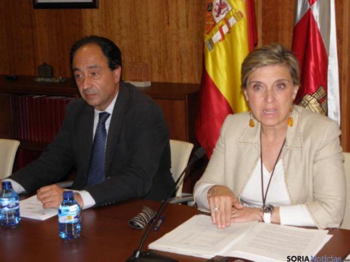 Manuel López y María José Salgueiro