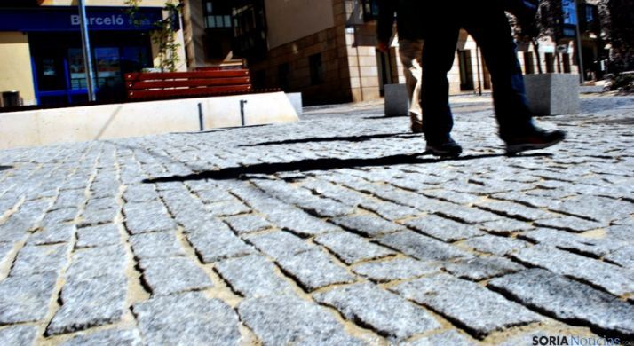 El nuevo pavimento del Vergel. / SN
